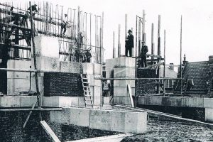 construction of the Menin Gate