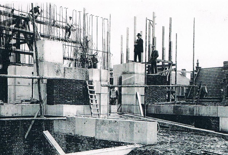construction of the Menin Gate