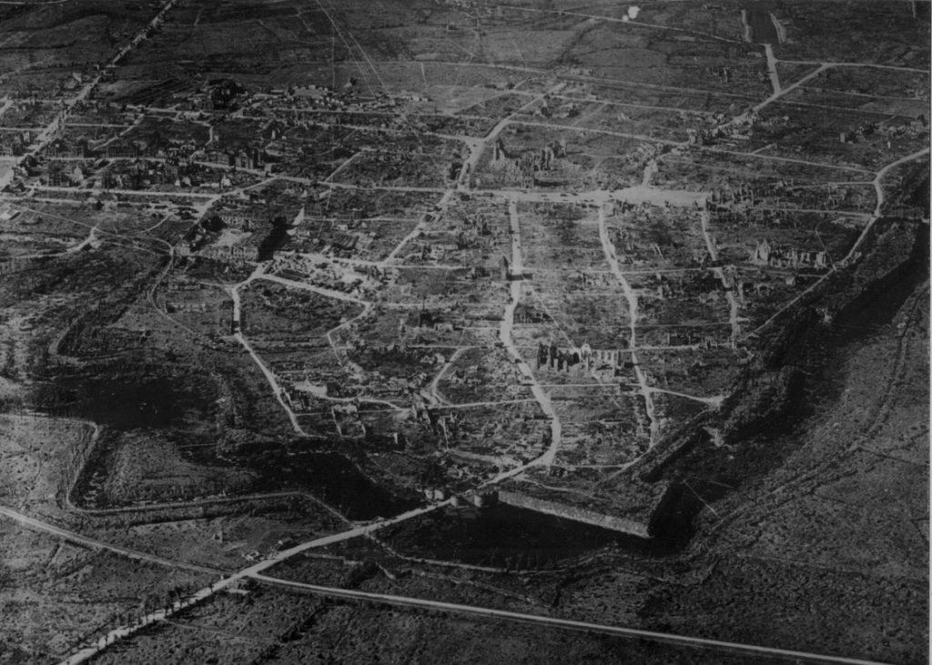 the destruction of Ypres
