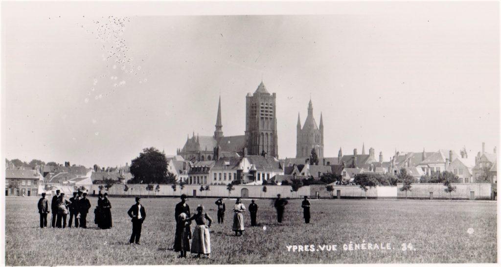 Pre-war Minneplein Ypres