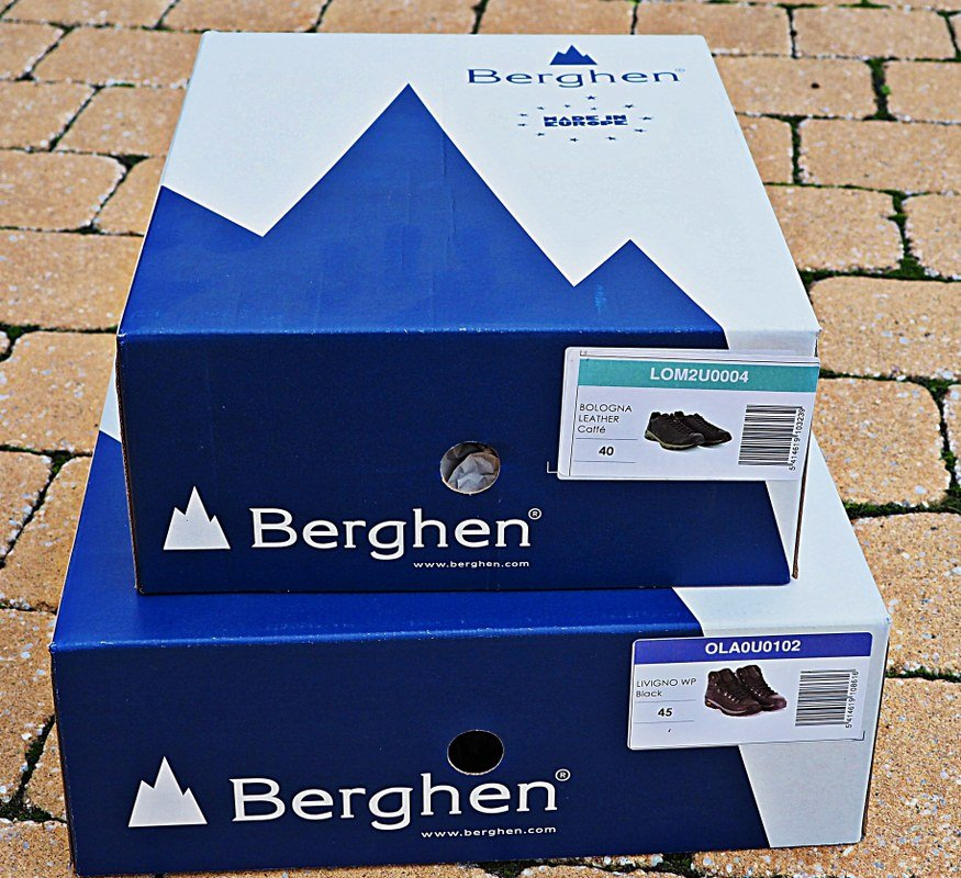Berghen hiking shoes product review