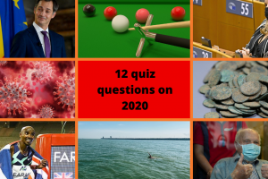 Belgian 2020 news quiz