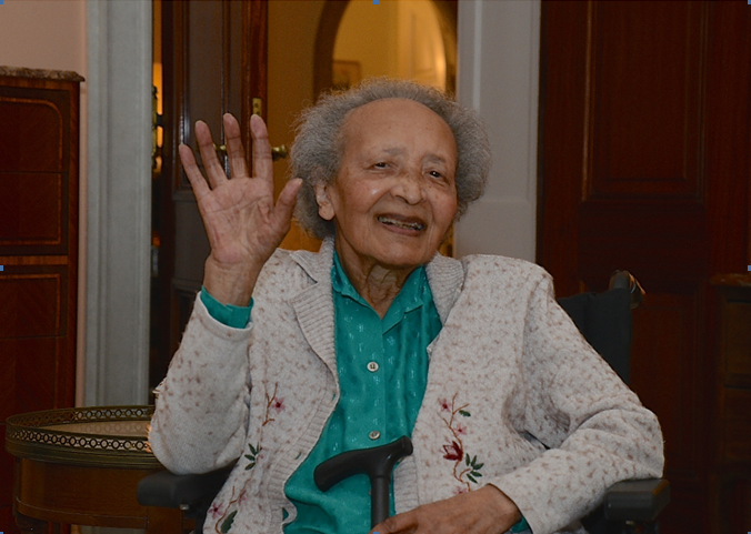 Augusta Chiwy, remarkable nurse during the Second World War