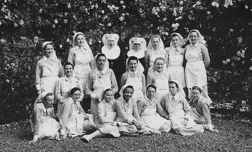 Augusta Chiwy nurse in Leuven