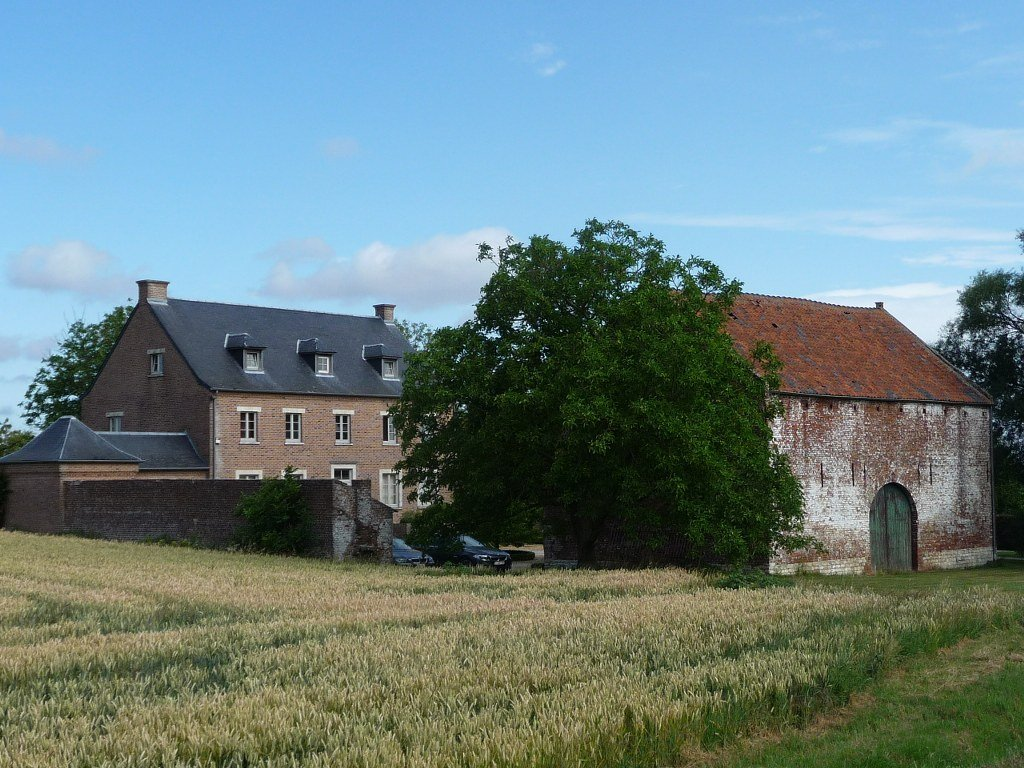 The barn of the Gailbiez Farm