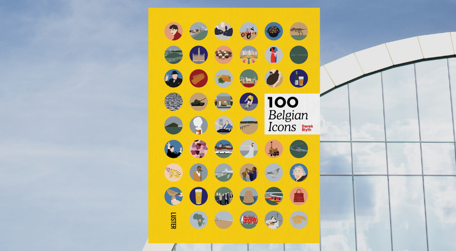 100 Belgian Icons by Derek Blyth