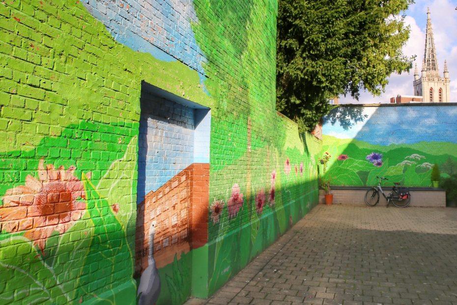 Leuven street art walk