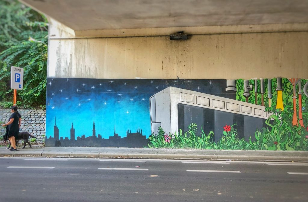 De Wijnpers mural